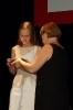Раису Гришину награждает Татьяна Визбор